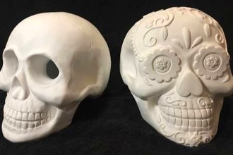 Paint Nite: Skullptures