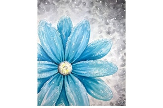 Paint Nite: Snow Dusted Daisy