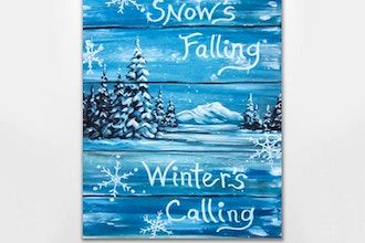 Snow's Falling Winter's Calling
