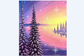 Paint Nite: Snowflake Lake