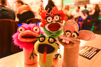 Paint Nite Innovation Labs: Sock Puppets