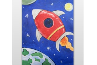 All Ages Paint Nite: Space Rocket
