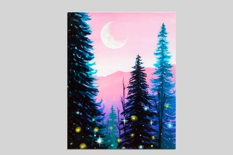 Paint Nite: Sparkle Forest