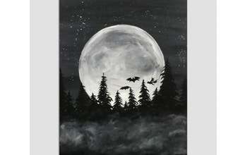 Paint Nite: Spooky Moon II