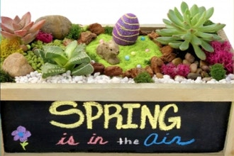 Plant Nite: Spring Is In The Air - Chalkboard