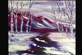 Virtual Paint Nite: Springtime Thaw (Ages 6+)