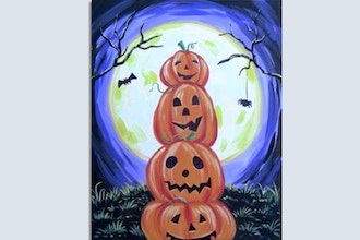 All Ages Paint Nite: Stack-O-Pumpkins
