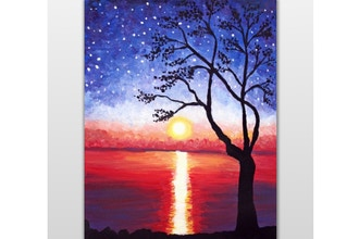 Paint Nite: Starry Daybreak