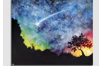 Paint Nite: Starry Desert Night (Ages 13+)