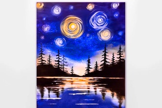 Paint Nite: Starry Lake