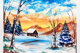 Paint Nite: Staying Warm in Winter