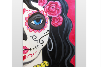 Paint Nite: Sultry Calavera
