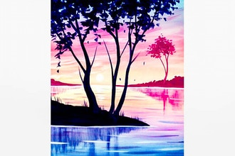Paint Nite: Summer Trees