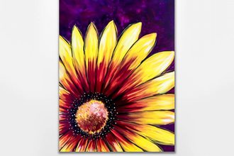 Paint Nite: Sunflower Burst II