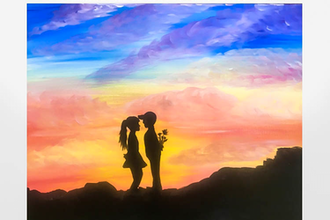 Paint Nite: Sunkissed Young Love