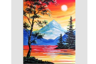 Paint Nite: Sunset Afternoon Delight