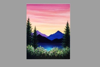 Paint Nite: Sunset Mountain Hike