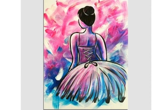 Paint Nite: Take the Stage (Ages 6+)