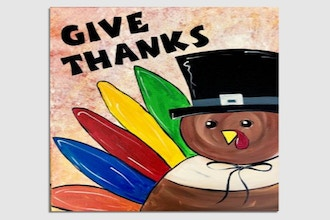 Paint Nite: Tom the Thanksgiving Turkey (Ages 6+)