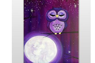 The Owl on the Moon