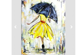 Paint Nite: The Yellow Dress