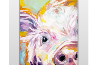 This Little Pig Went To A Paint Nite