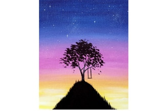 Paint Nite: Top Of The World