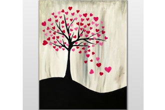 Virtual Paint Nite: Tree of Love V (Ages 6+)