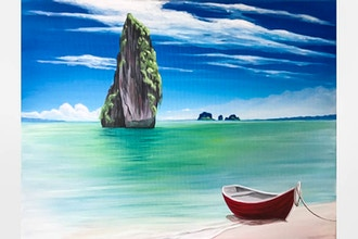 Paint Nite: Tropical Beach Escape (Ages 13 & up)