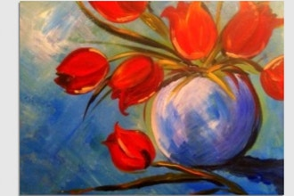 Paint Nite: Tulips