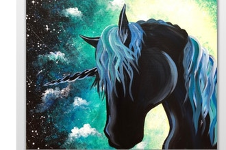 Paint Nite: Unicorn Magic II (Ages 18+)