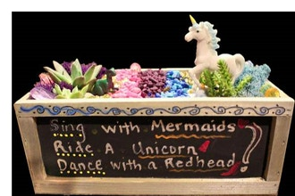 All Ages Plant Nite:Unicorn Spirit Chalkboard Container