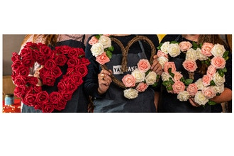 All Ages Plant Nite: Valentine's Rose Heart Wreath