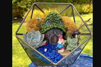 Virtual Plant Nite: Bronze Glass Geo- Gnome Garden (6+)