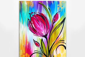 Paint Nite: Whimsical Tulip