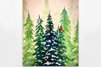 Paint Nite: Winter Pines II