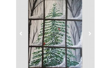 Paint Nite: Winters Window