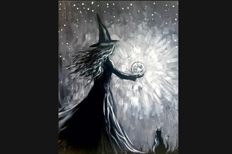 Paint Nite: Witch's Moonspell
