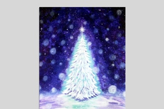 Paint Nite: Wondrous Winter Night