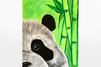 Paint Nite: Zen There was a Panda