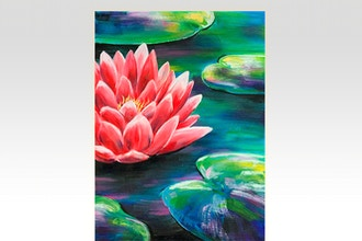 Paint Nite: Blooming Lily Pads