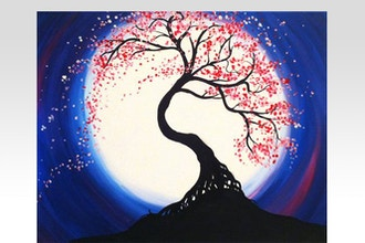 All Ages Paint Nite: Moonlit Tree of Life