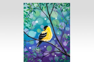 All Ages Paint Nite: Spring Goldfinch