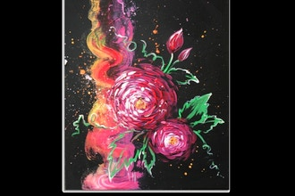 Paint Nite: Abstract Roses