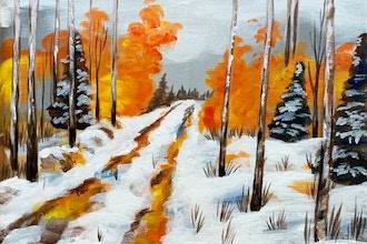 Paint Nite: Autumn Rustic Road