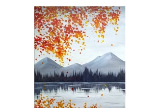 Paint Nite: Autumn Mountains