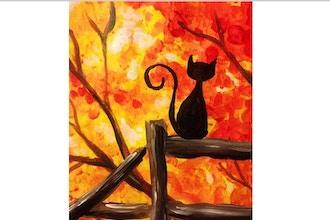 Virtual Paint Nite: Autumn View