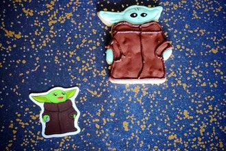 Virtual Baking: Baby Yoda Cookies (Ages 6+)