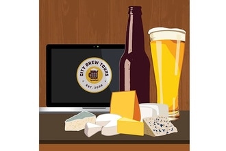 Virtual Event: Guided Beer & Cheese Pairing (Ages 21+)