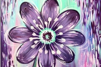 All Ages Paint Nite: Blooming in Purple